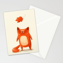 I am autumn (1) Stationery Cards