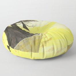 Cypress Sunrise Floor Pillow
