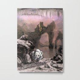 Solitude from Skyrim Metal Print