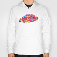 bazinga Hoodies featuring Bazinga! - Ball Pit by MaNia Creations