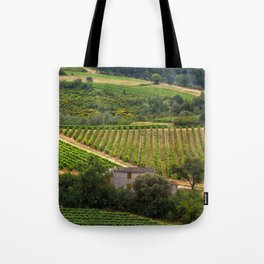 landscape in southern france 2 Tote Bag