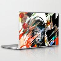 mask Laptop & iPad Skins featuring Mask  by Irmak Akcadogan