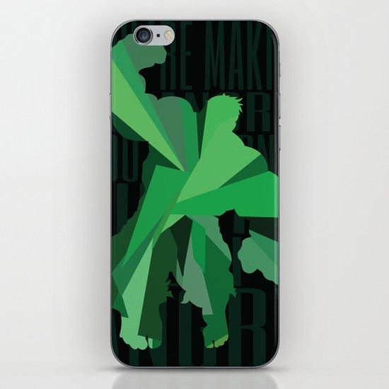 The Hulk - Quote iPhone & iPod Skin