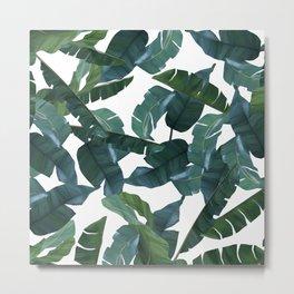 Banana Leaf Decor #society6 #decor #buyart Metal Print