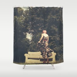 Room(s) With a View Shower Curtain