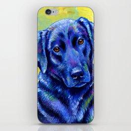 Colorful Labrador Retriever Dog iPhone Skin