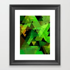 AARON Framed Art Print