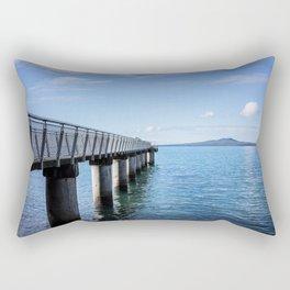 Fishing Pier Rectangular Pillow