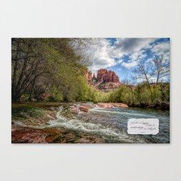 Cathedral Rock, AZ Canvas Print