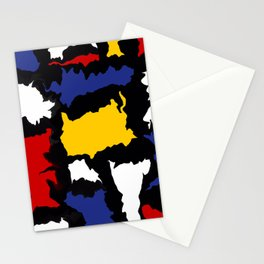 Manic Mondrian 1 Stationery Cards