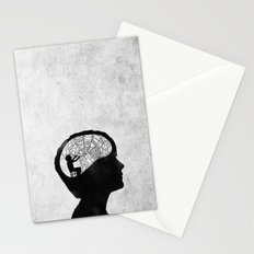 Musarañas (black and white) Stationery Cards
