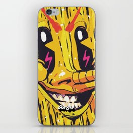 NAUGHTY SALTED CHIPS iPhone Skin