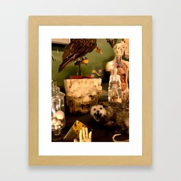 Curious Beasts Framed Art Print