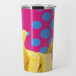Banane mit Punkten Travel Mug