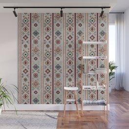 Caucasian Rugs(Stripe) - White Wall Mural