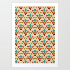 Retrospect, Triangle Nonet, No. 02 Art Print