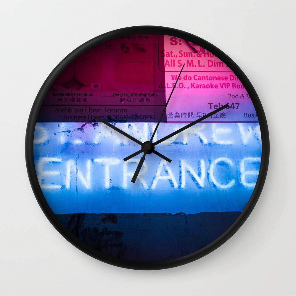 St Andrew Urban Night Urban Lights 8 Wall Clock