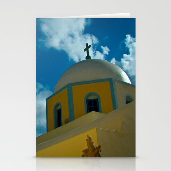 Church Tower Stationery Cards
