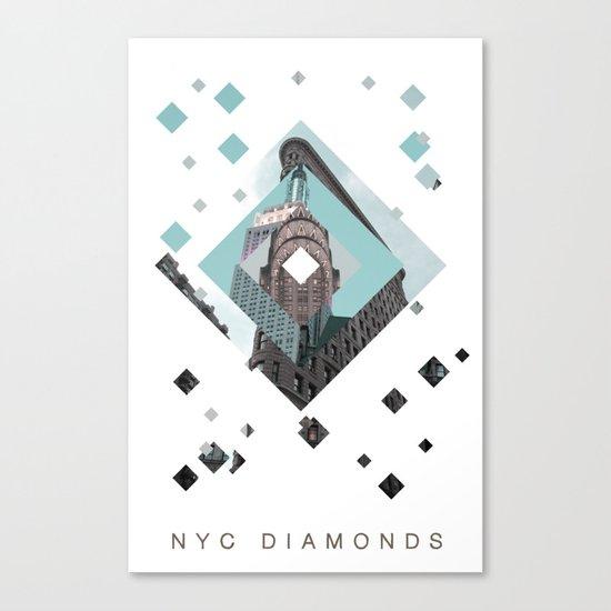 New York City Diamonds Canvas Print