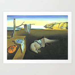 Melting Clocks Salvador Dali Fine Art Art Print