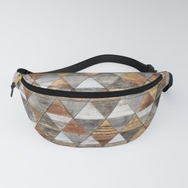 Rustic Geometry 3 Fanny Pack