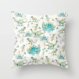 Gigantosaurus  Throw Pillow