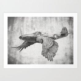 In which it's a bird. It's a plane. Art Print
