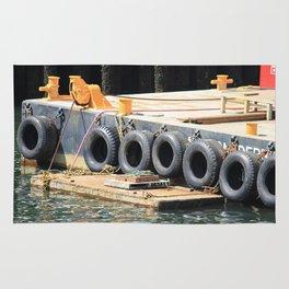 Tugboat: Seattle Rug