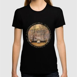 Entrance to Winter Journey T-shirt