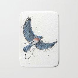 Lil Bluebird Bath Mat