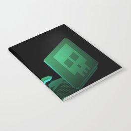 Hacker low-poly 3D artwork Notebook