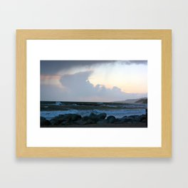 Royal skies Framed Art Print