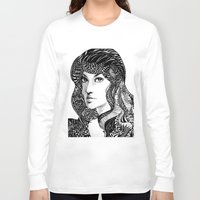 oriental Long Sleeve T-shirts featuring Oriental by Judy Hung