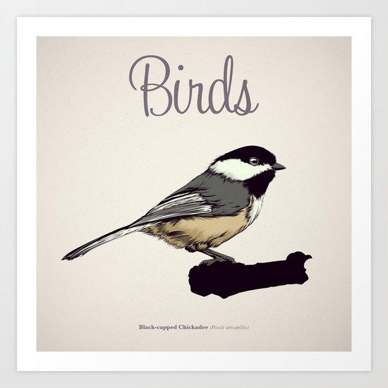 BIRDS 03 Art Print