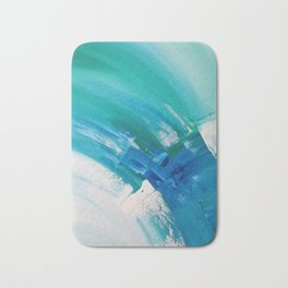Turquoise Compositon IV Bath Mat