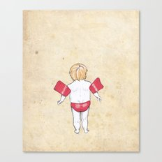 Would the next Michael Phelps please stand up? Canvas Print