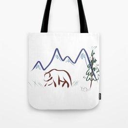 Mountain Air II Tote Bag