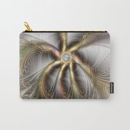 Wall Decor, Abstract Fractal Art Carry-All Pouch