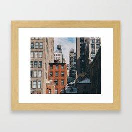 New York #1 Framed Art Print