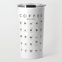 Coffee Chart - Espresso Classics Travel Mug