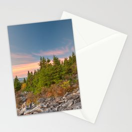 Spruce Knob Twilight Trail Stationery Cards