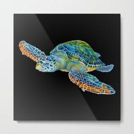 Sea Turtle 4 Metal Print