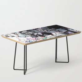 The Purple Mercury People Coffee Table