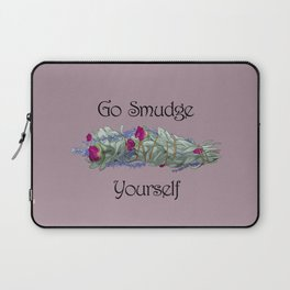Go Smudge Yourself Laptop Sleeve