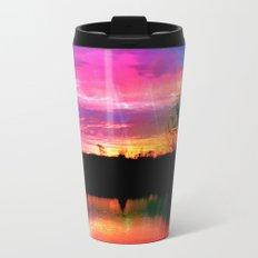 Watercolor January Texas Sunrise Travel Mug