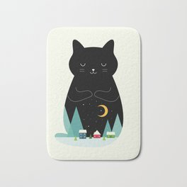 Silent Night Bath Mat