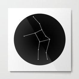 VIRGO (MINIMALIST DESIGN) Metal Print