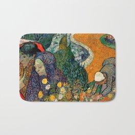Memory of the Garden at Etten by Vincent van Gogh Bath Mat