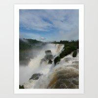 Foz De Iguazu, Argentina Art Print