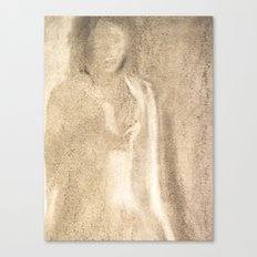 The Lady in Grey Canvas Print